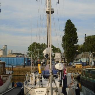 Berth in South Dock London